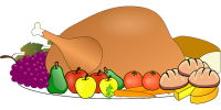 Thanksgiving Delivery Schedule