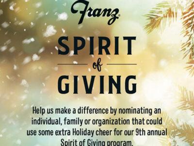 spirit of giving flyer