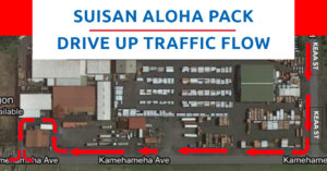 NEW LOCATION For The Suisan Aloha Pack On The Eastside