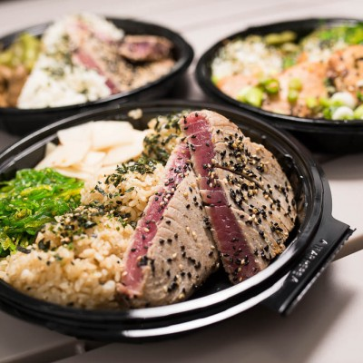 Fish Steak Bento
