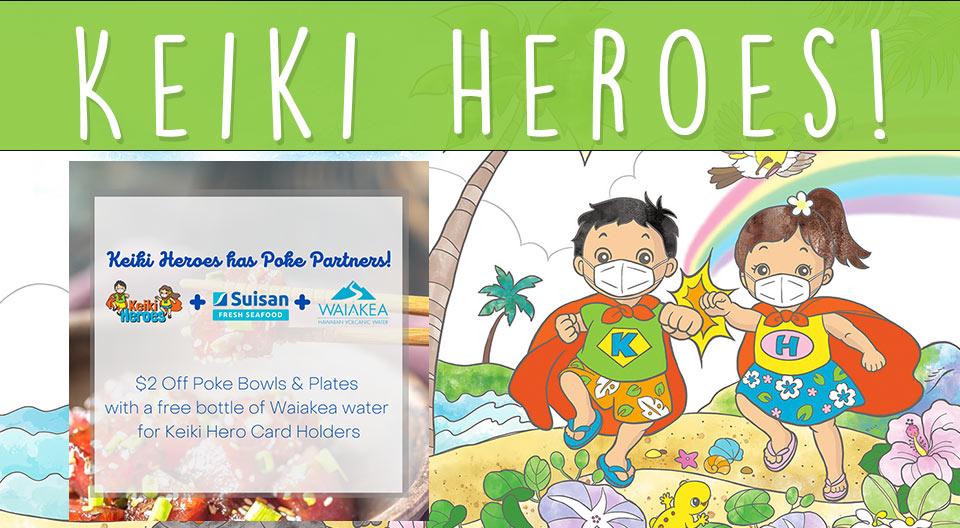 Keiki Heroes slider