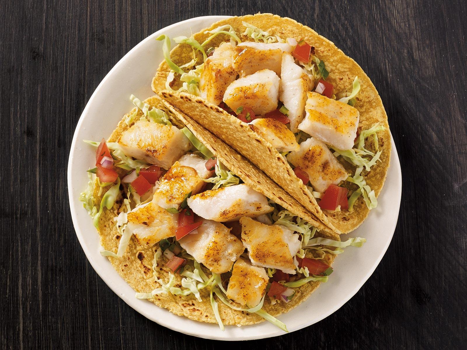 Pollock Tacos