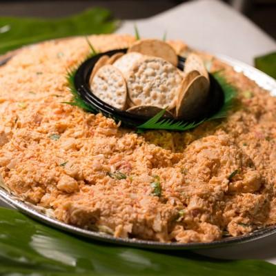 Suisan Crab Salad Poke Platter