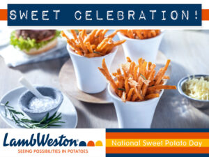 A Sweet Celebration With LambWeston!