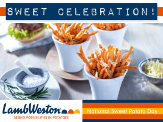 Sweet Celebration Slider Lamb Weston