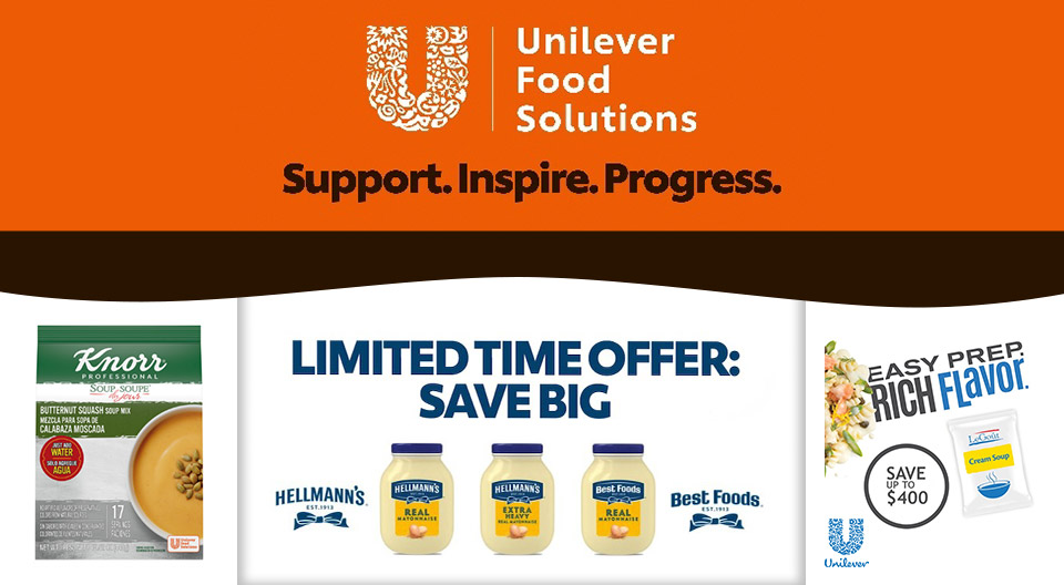 Unilever slider Image