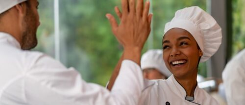 Chef High five image