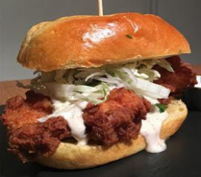 Chicken Sandwich With Mayo Image