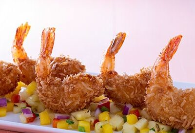 Coconut Shrimp promo