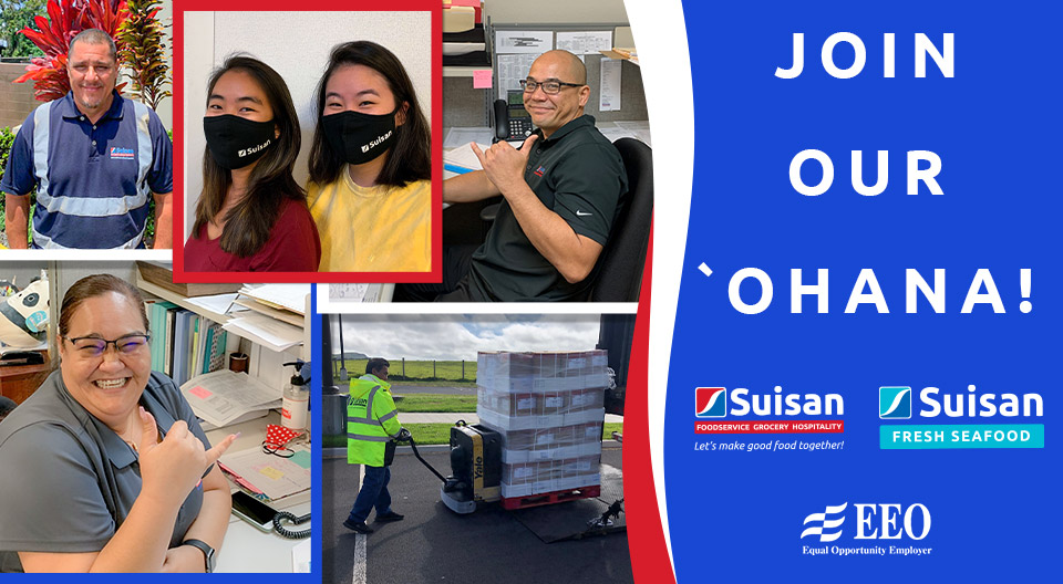 Employment Opportunities at Suisan Slider