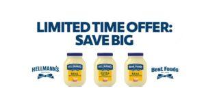 Hellman's Rebate Via Unilever