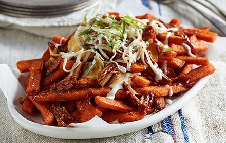 Loaded Sweet Potato Fries image